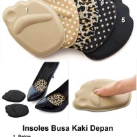 Insoles Busa Kaki Depan Alas Sepatu Wanita Heels Shoe Cushion Insole