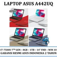Notebook / Laptop Asus A442UQ - i7-7500U/8GB/1TB/WIN10 14