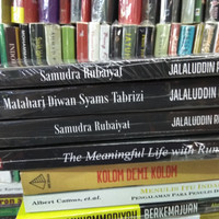 Paket 4 Buku Jalaluddin Rumi