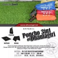 Ponco Raincoat Multifungsi 3in1 Dhaulagiri