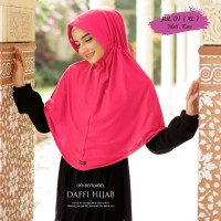 jilbab ori Daffi, jilbab seragam sekolah anak dan hijab instan dewasa