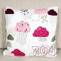 EMBIE CUSHION - Sarung Bantal Sofa / Cushion, 40 x 40 cm, No. 704