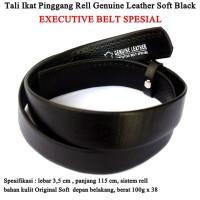 Tali Ikat pinggang Rell Executive Leather black