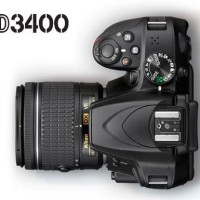 Kamera DSLR NIKON D3400 KIT 18-55MM VR XTT104676 High Quality