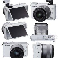 Kamera Mirrorless CANON EOS M10 KIT 15-45MM Terbaik XTT104606