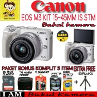 Kamera Mirrorless CANON EOS M3 KIT 15-45 XTT104724 High Quality