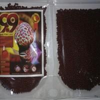 Makanan ikan Pellet / Pelet Louhan / lohan 9.9 size M 50gr