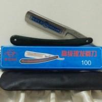 Pisau Alat Peralatan Tukang Cukur Lipat Manual (Gold Dollar) - SUT44