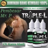 Obat Pembesar Alat Vital Pria TRIPLE L / Zhang Power / Titan Gel