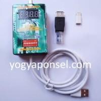 Kabel Multi boot dan Flashing 8 swicth termasuk Adapter UART