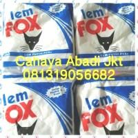 LEM FOX PUTIH 350GR BIRU SLIME / KERTAS / KAYU