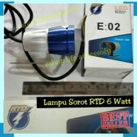 Harga lampu sorot tembak rtd e02 fokus tembus kabut motor   antitipu.com