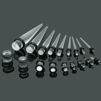 Ear Stretcher Taper Plug Piercing Set