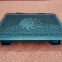 "Cooling Pad Cooler Fan Kipas Pendingin Laptop Tatakan Max layar 15"""