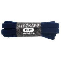 KipzKapz FS50 Navy 140cm Tali Sepatu Pipih / Flat Shoelace