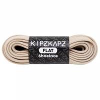KipzKapz FS47 Beige 90cm 140cm Tali Sepatu Pipih / Flat Shoelace
