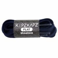 KipzKapz FS49 Navy 90cm 115cm 140cm Tali Sepatu Pipih / Flat Shoelace