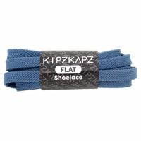 KipzKapz FS48 Blue Steel 115cm Tali Sepatu Pipih / Flat Shoelace
