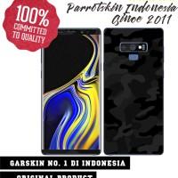 Garskin Samsung Note 9 blac camo style case bisa custom type lain