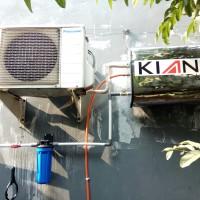 Pemanas air Water Heater KIAN 40L Slim tanpa listrik