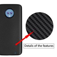 Motorola Moto G6 Plus Carbon Soft Back Case Cover Casing Motif Karbon