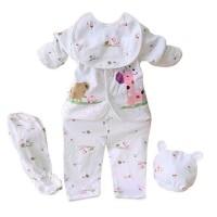 Import 5pcs/Set Pakaian Bayi Baru Lahir/New Born