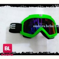 kacamata cross osbe pelangi google cross trail helm gm klx sparep