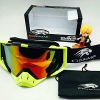Kacamata sport goggles cougar motor cross fire onderdil top 0d83bfad87