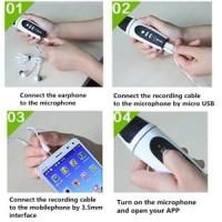 3.5mm Mini Singing Karaoke Microphone Mic HP (iphone/Sa Promo