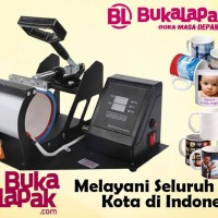 MESIN PRESS MUG ALAT CETAK GELAS DIGITAL SABLON - Print Promo