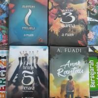 novel rantau 1 muara ranah 3 warna negeri 5 menara anak rantau A fuadi