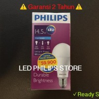 Lampu Bohlam LED Philips 14 Watt Putih/Cool Day Light (14W 14 W 14Watt