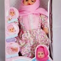 Harga mainan anak perempuan cewek cewe girl boneka bayi anisa hijab | Pembandingharga.com