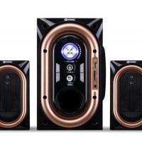 Speaker GMC Salon Aktif Speker Bluetooth USB Memori 886C Origi Diskon