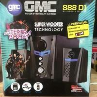 Speaker Aktif Bluetooth GMC 888D1 BT Diskon