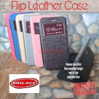 Samsung Galaxy J7 Duo Flip Cover Leather Case Sarung Buka Tutup HP