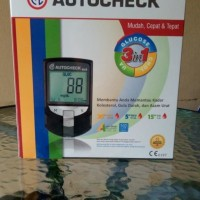 Alat Diagnosa Diabetes Asam Urat Kolesterol Digital Test Diabetes