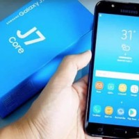 New Samsung Galaxy J7 Core Black Garansi Resmi Samsung