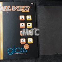 SILVER Tempered Glass Samsung Galaxy Tab S4 10.5'' Anti Gores Kaca