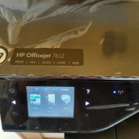HP OFFICEJET 7612 ALL IN ONE PRINTER A3 BEKAS MULUS KOMPLIT