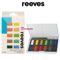 Reeves WaterColour 12 Pocket Set - Cat Air Set Poket / Water colour