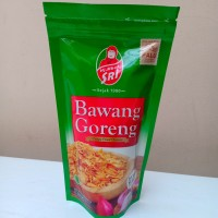BAWANG GORENG PALU RENYAH HJ. MBOK SRI 100 GRAM / CRISPY FRIED ONIONS