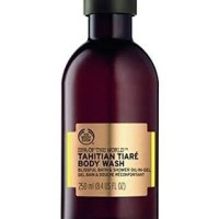 THE BODY SHOP SPA OF THE WORLD TAHITIAN TIARE BODY WASH 250ml