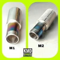 Jual Knalpot mobil racing swift splash APV ertiga -HKS oval rainbow mini Murah