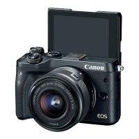 Canon EOS M6 Kit EF-M 15-45mm f/3.5-6.3 IS STM - Kamera Mirrorless