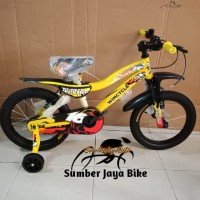 Sepeda BMX 16 inch wimcycle RAIDER terbaru