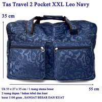 Tas Travel 2 pocket XXL Leo Navy