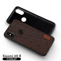 Softcase TPU MOFI Fabric ORI Premium Cover Case Casing HP Xiaomi Mi 8