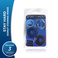 VIVO Stay Hard - Donut Stamina Rings Original Silikon