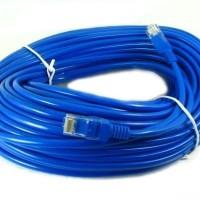 Kabel LAN UTP 30M RJ45 Cat 5e Cable 30 Meter terpasang konektor cat5e